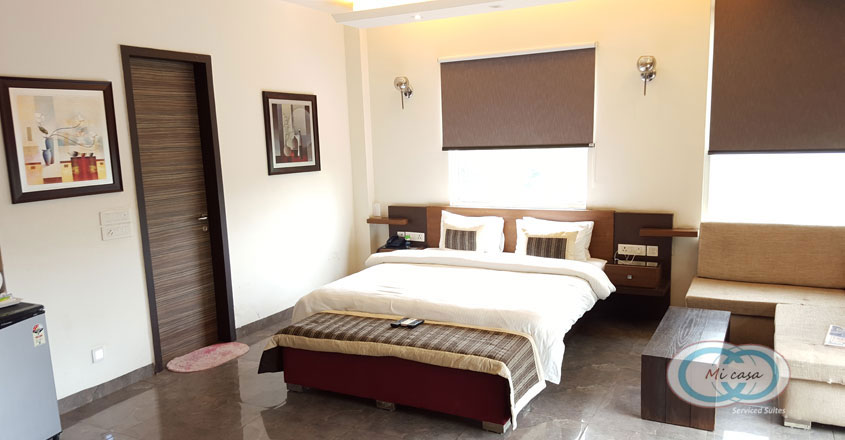 MI Casa Serviced Suites, Haryana - Standard Room